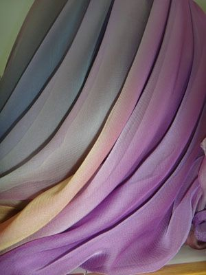 purple silk
